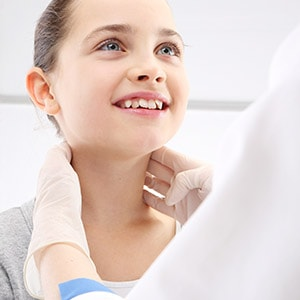 Teen health care doctor's visit at ANOVA Family Health in Watford City ND